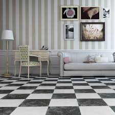 black gloss marble effect floor tiles otono tiles 333x333x8mm tiles