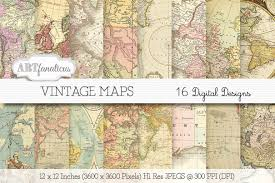 Vintage Map 50 Beautiful Vintage Maps For All Your Retro Designs Creative