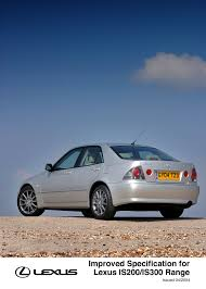 lexus is200 sport wheel size enhanced specification for lexus is200 is300 range lexus uk