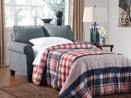 zeth denim twin sofa sleeper from ashley 2710137 coleman furniture