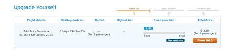 bid for klm bid for your upgrade flyertalk forums