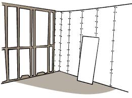 Standard Interior Wall Thickness Plasterboard Build