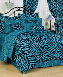 Girls Zebra Bedding by Karin Maki Black And Blue Zebra Stripe Bedding Is The Perfect
