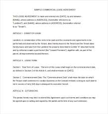 sample rental lease agreement printable house rental agreement