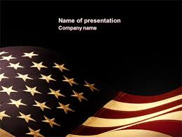 old glory usa flag powerpoint template backgrounds 04083