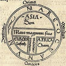 map ot this t and o map from the printed version of isidore of