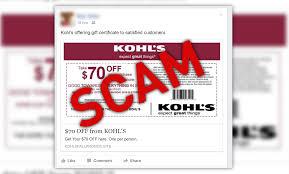 watch out kohl u0027s u0027 u0027 70 off any purchase u0027 u0027 coupon is a scam
