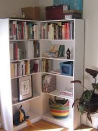 Ikea Corner Bookcase Unit Think That I Like This Method Of Dealing With Corners And