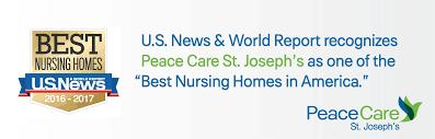 St Joseph Home by Peace Care St Joseph U0027s Named A U S News U0026 World Report U201cbest