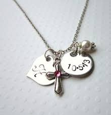gifts for communion communion jewelry personalized communion necklace