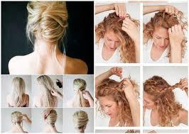 Hochsteckfrisurenen Zum Selber Machen Schulterlange Haare by 22 Einfache Frisuren Selber Machen Bob Frisuren