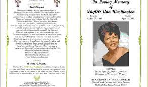 funeral program templates sle funeral program funeral program template sle inside page