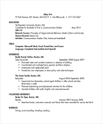 Sample Resume For Sales Associate by 38 Sample Resume Templates Free U0026 Premium Templates