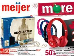 meijer spills the beans on its black friday ad