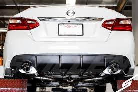 nissan altima 2016 trunk stillen product announcement stillen axle back exhaust for 16