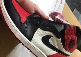 Bred Si E Social Lucky Sneakerhead Gets Air 1 Bred Toe Shipped Early From