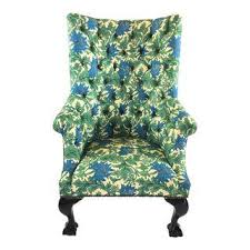 Green Chesterfield Armchair Vintage U0026 Used Accent Chairs Chairish