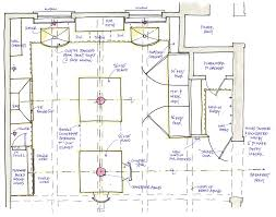 Kitchen Blueprints 100 L Shaped Kitchen Floor Plans With Island Kitchen Design
