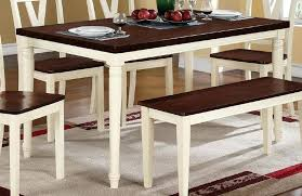 wood rectangular dining table white rectangular dining tables creamy white legs cherry wood top