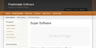 templates for blogger for software free blogger template freshmade software arcsin web templates