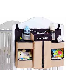 cribs with changing table and storage 2017 washable nursery organizer baby crib bed hanging storage bag