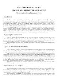 layout of essay