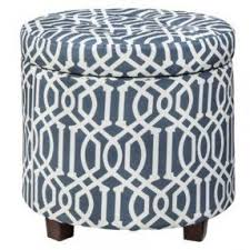 round tufted ottomans foter