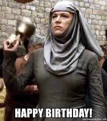 Game Of Thrones Birthday Meme - happy birthday shame nun game of thrones meme generator