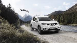 nissan rogue for dogs nissan x trail x scape goes soft roading with its own pet drone
