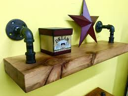 Reclaimed Wood Shelves by Industrial Pipe Shelving Reclaimed Wood Shelf Pipe Shelves