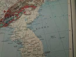 Sea Of Japan Map Tectonic Map Of China And Mongolia Mapprinter