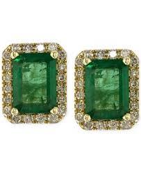 emerald earrings emerald earrings macy s