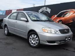 2003 Toyota Corolla Interior Used 2003 Toyota Corolla For Sale Pricing U0026 Features Edmunds