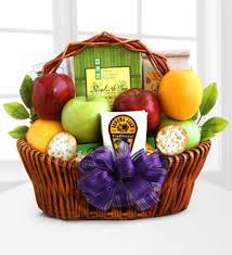 Gourmet Basket Adair U0027s Flower Shop Fruitful Greetings Gourmet Gift Basket Good