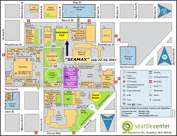 Federal Way Seattle Map by Seattle Center Yes This Is A Map Too Many Places For A Proper