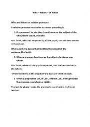 english worksheets relative worksheets page 117
