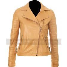 light brown vest womens kelly brook leather jacket women brown tan jacket