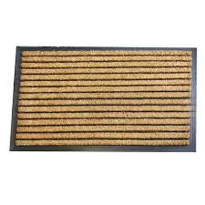 Outdoor Coir Doormats Jumbo Stripe Rubber And Coir Doormat Coir Doormat Coir And Doormat