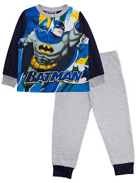 boys official dc comics batman pyjamas 2 pj s set size uk