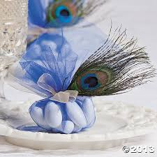 peacock wedding favors tulle peacock feather wedding favors matches your peacock idea