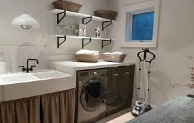 Decorated Laundry Rooms Basement Laundry Room Ideas And Storage Solutions Design And
