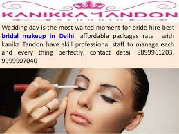 bridal makeup package industrial fashion makeup artist in delhi