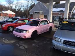pink subaru vwvortex com is it possible to make a subaru baja even uglier