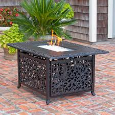 Costco Outdoor Furniture With Fire Pit by Brown Fire Pits U0026 Chat Sets Costco