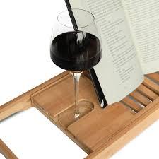 Bathtub Book Tray Bamboo Bathtub Extendable Caddy