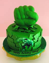 25 ways incredible hulk birthday cake