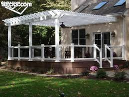 Trex Pergola Kit by Best 25 Pergola Attached To House Ideas Only On Pinterest