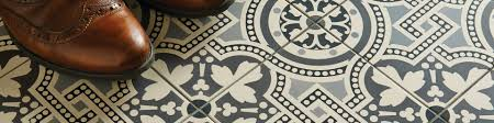 Fliesen Bordre Hand Decorated Floor Tiles