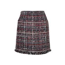 tweed skirt second chanel tweed mini skirt the fifth collection