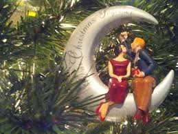 rustic as mr mrs ornament our 1st